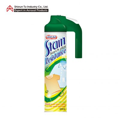 Ironing starch spray